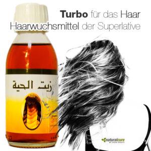 Schlangenöl Yılan Yağı gegen Haarausfall